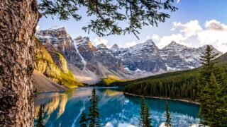 After soaking in world class scenery at Moraine Lake, recharge in your luxury Banff hotel