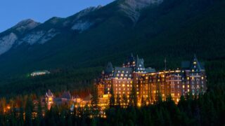 The best places to stay in Banff - 5 star hotels like the Fairmont Banff Springs Hotel and the Rimrock Resort Hotel