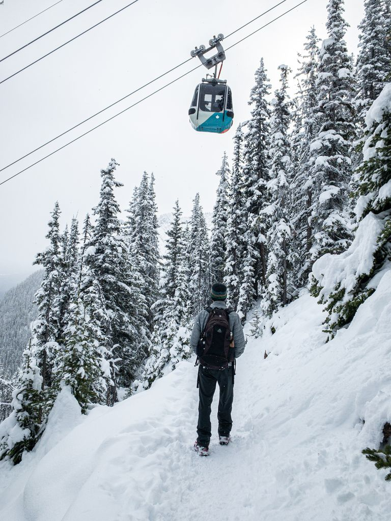 Hiking Sulphur Mountain instead of taking the Banff Gondola is one of our favorite cheap things to do in Banff