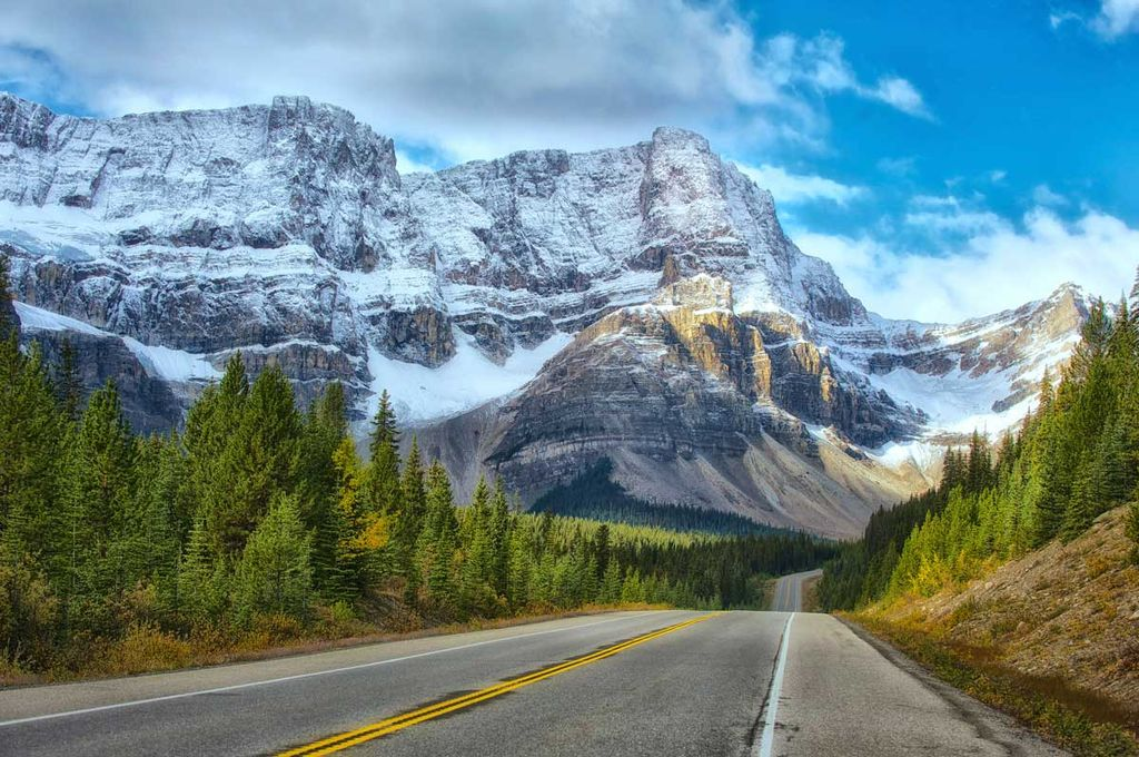 If you visit Banff on a budget without a car, you'll also help the environment and reduce vehicle congestion in the national park