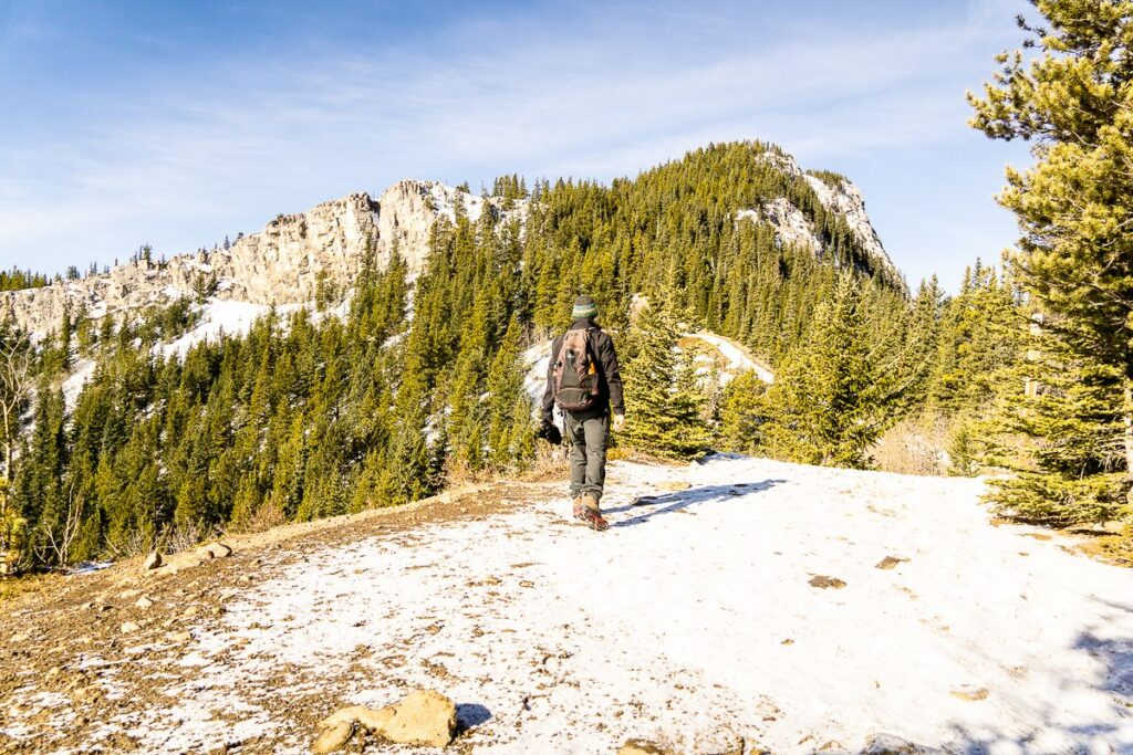 Spring hikes in Kananaskis - Yates Mountain Trail