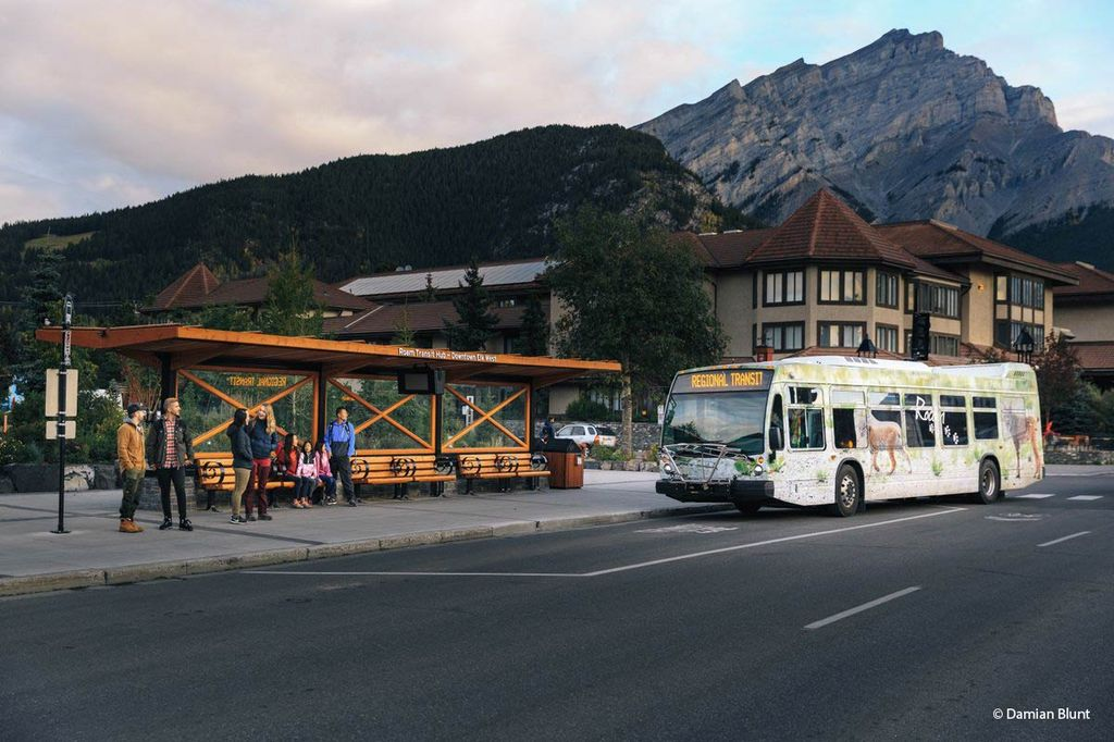 How to get around Banff on a budget