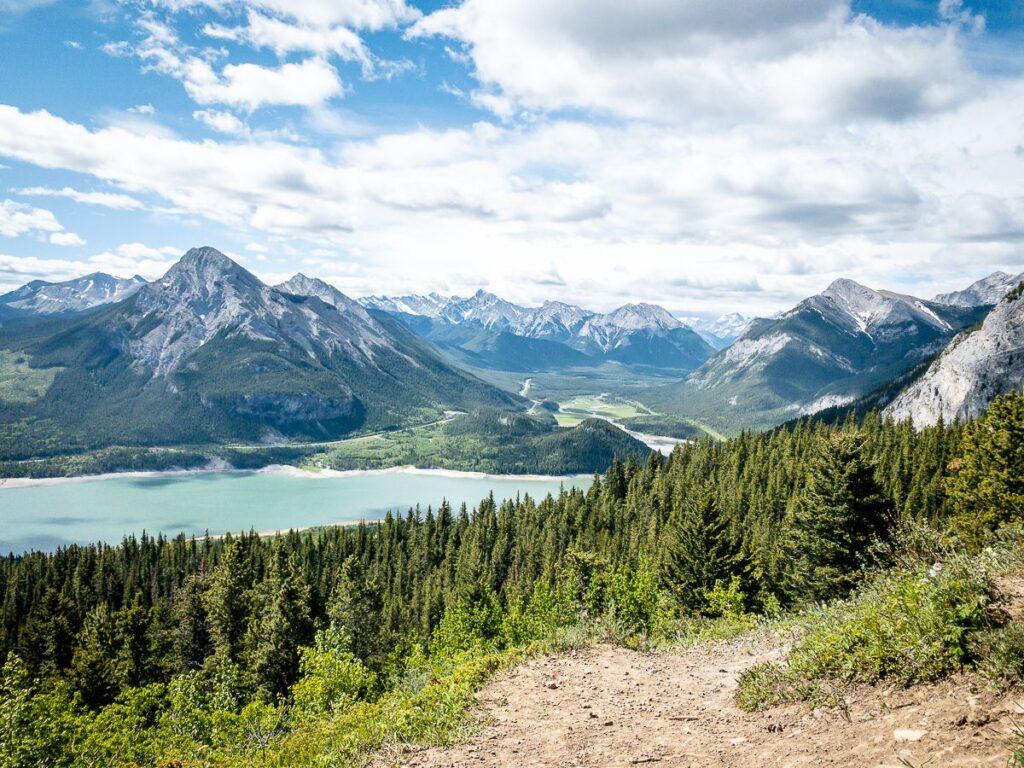 The Yates Mountain hike offers very rewarding vistas of Kananaskis Canada