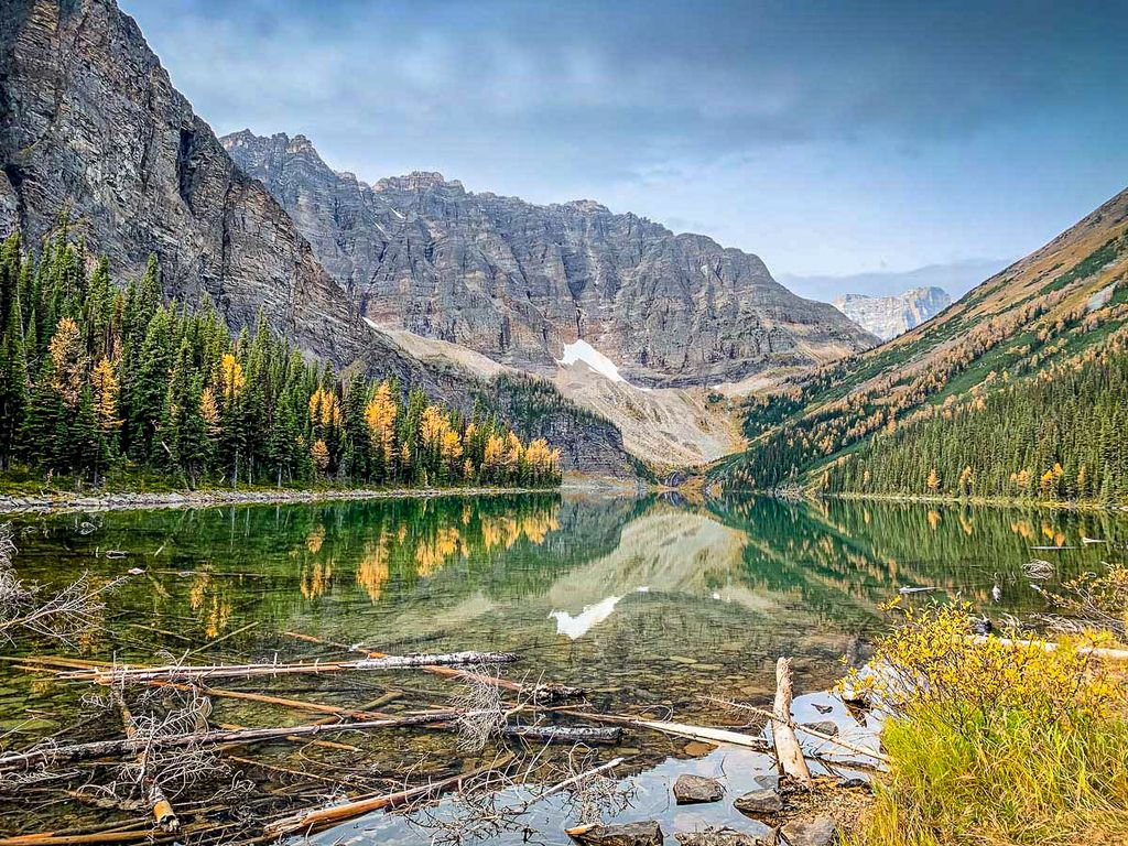 To visit Banff on a budget, consider visiting in fall when hotel room rates drop