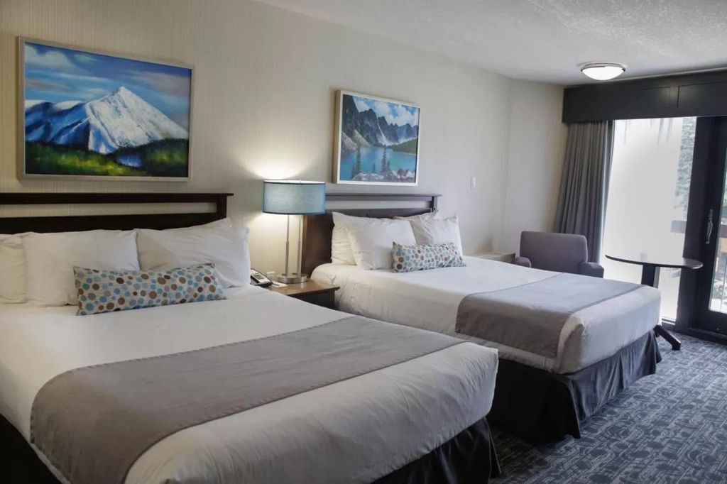 clean, yet cheap Banff accommodations are budget friendly