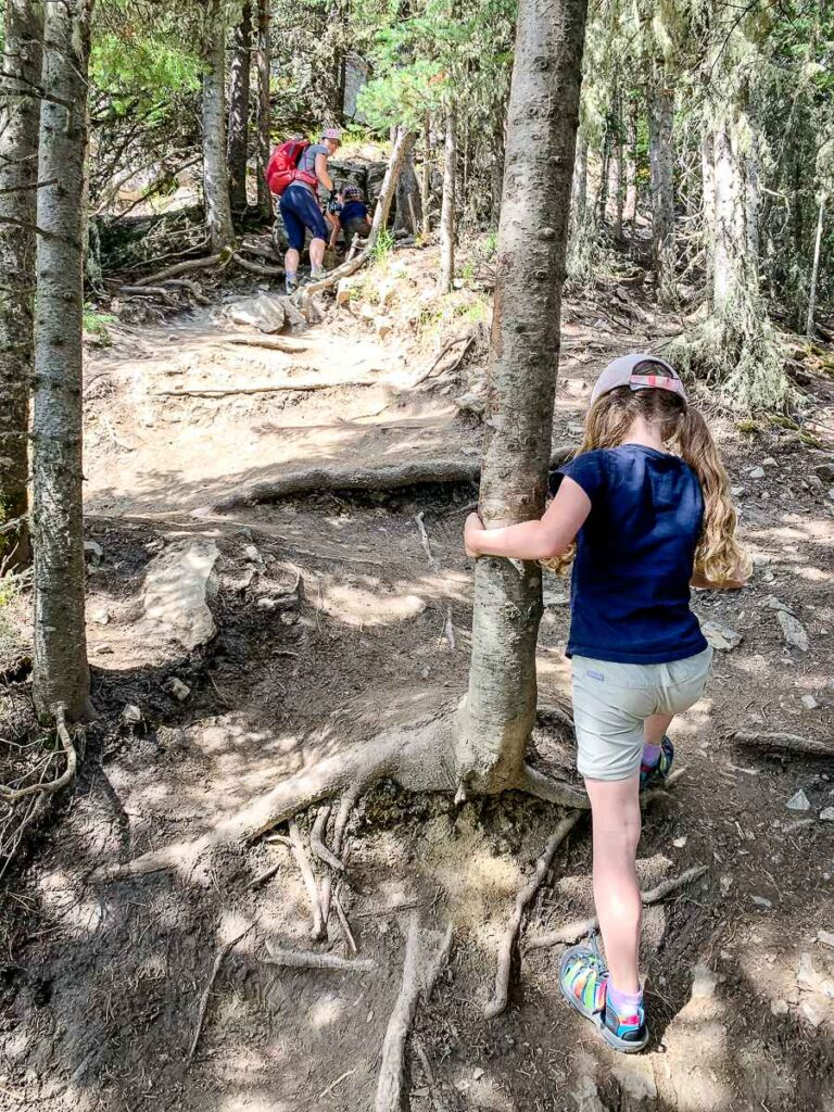 "Yates Mountain Trail is a ""moderate"" Kananaskis hiking trail"