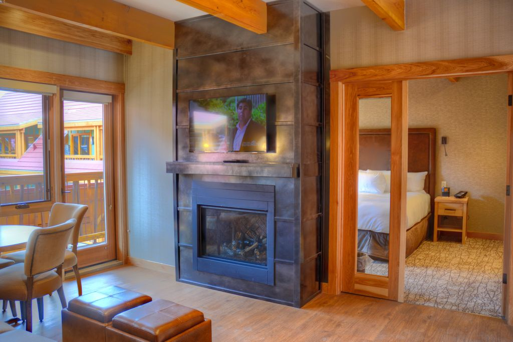 The Moose Hotel is one of the best Banff hotels on Banff Avenue