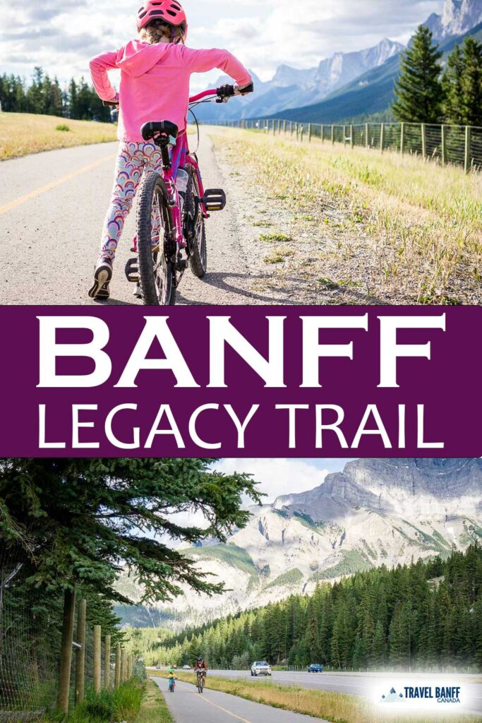 Cycling the Banff Legacy Trail. Here's everything you need to know about biking the Legacy Trail from Canmore to Banff. Get recommendations on where to stop, how to ride one-way and more for this epic bike trail in Banff National Park.