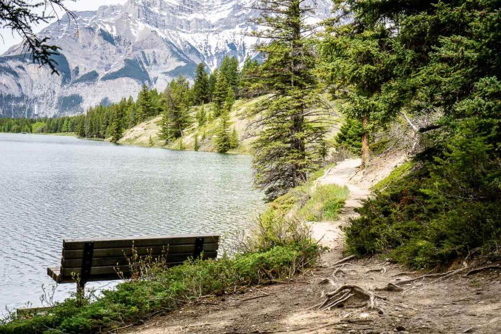 Johnson Lake Alberta hiking