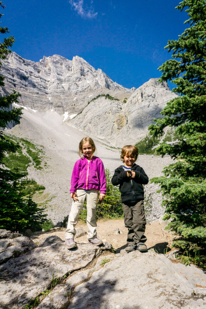 Banff Hikes with Kids - C-Level Cirque