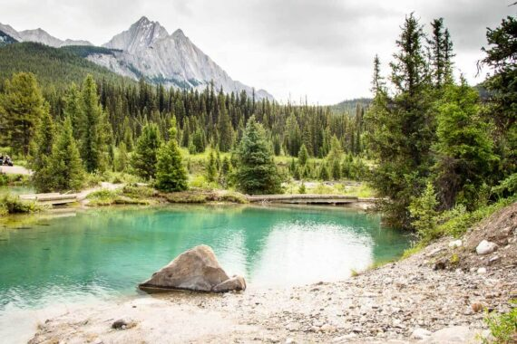Hike to the Ink Pots in Banff National Park