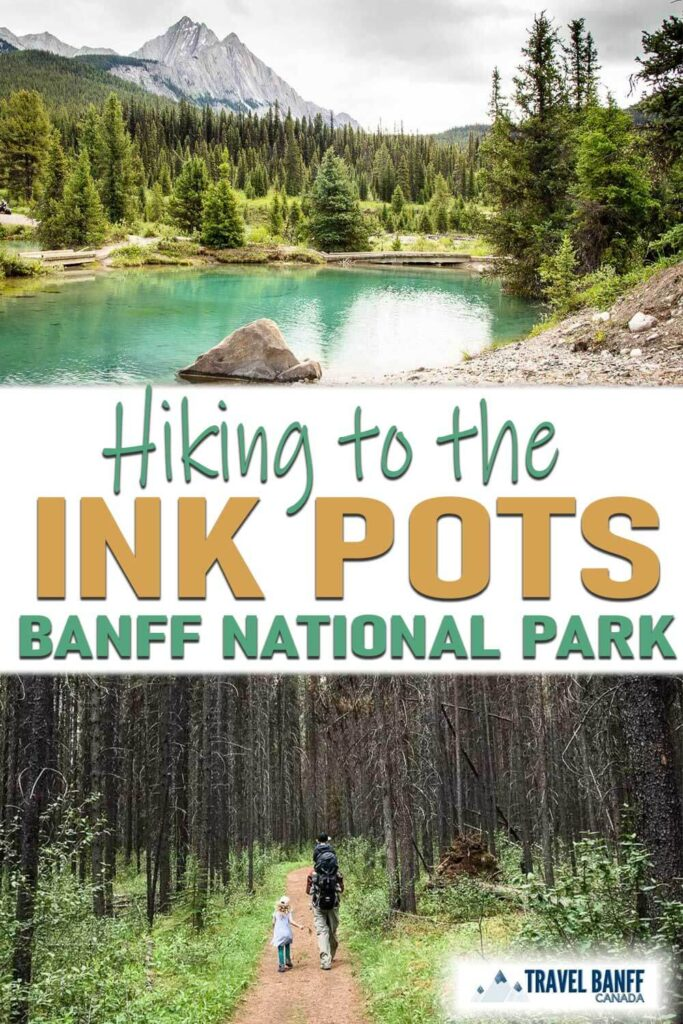 Hiking to the Ink Pots in Banff. Get all the details for hiking to the Ink Pots via Johnston Canyon or for a quieter alternative, hiking to the Ink Pots via Moose Meadows. This is a hike in Banff you don't want to miss!