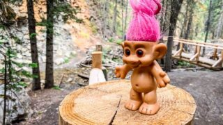 The Troll Falls hike to a pair of beautiful Kananaskis falls is easy and fun for all ages