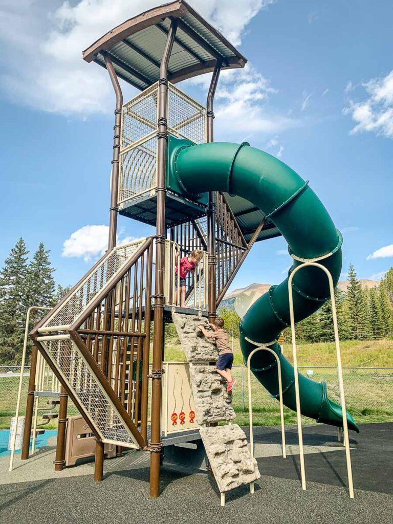 Lake Louise Playground