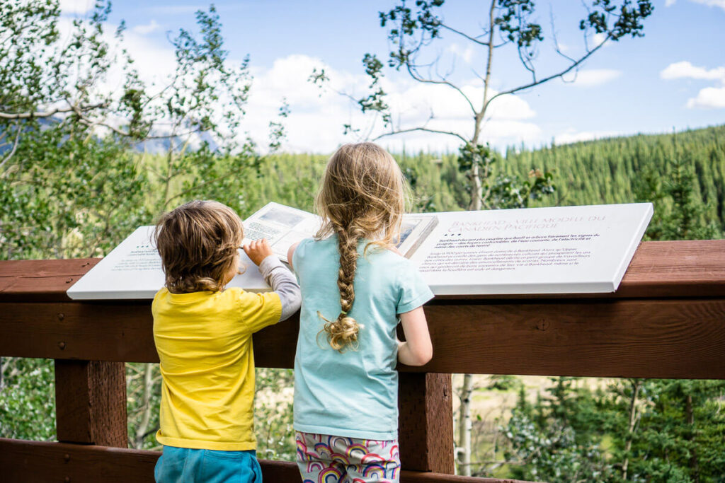 Banff hiking trails with kids - Lower Bankhead Ghost Town