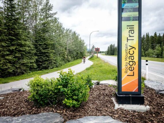 Cycling the Rocky Mountain Legacy Trail in Banff National Park