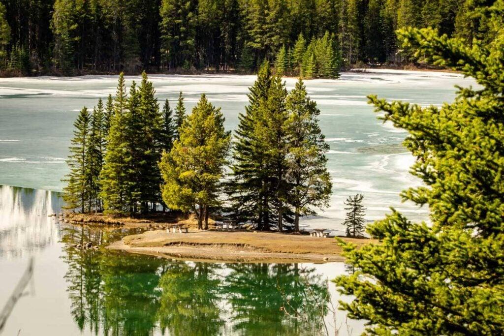 Banff picnic areas - Two Jack Lake Picnic Area