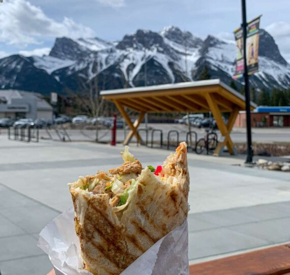 Best Canmore Takeout Food