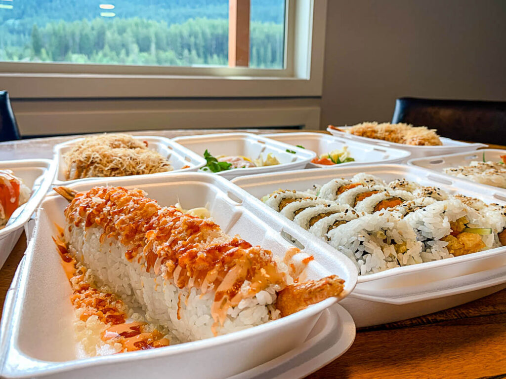 Best Sushi Canmore Takeout from Mii Sushi