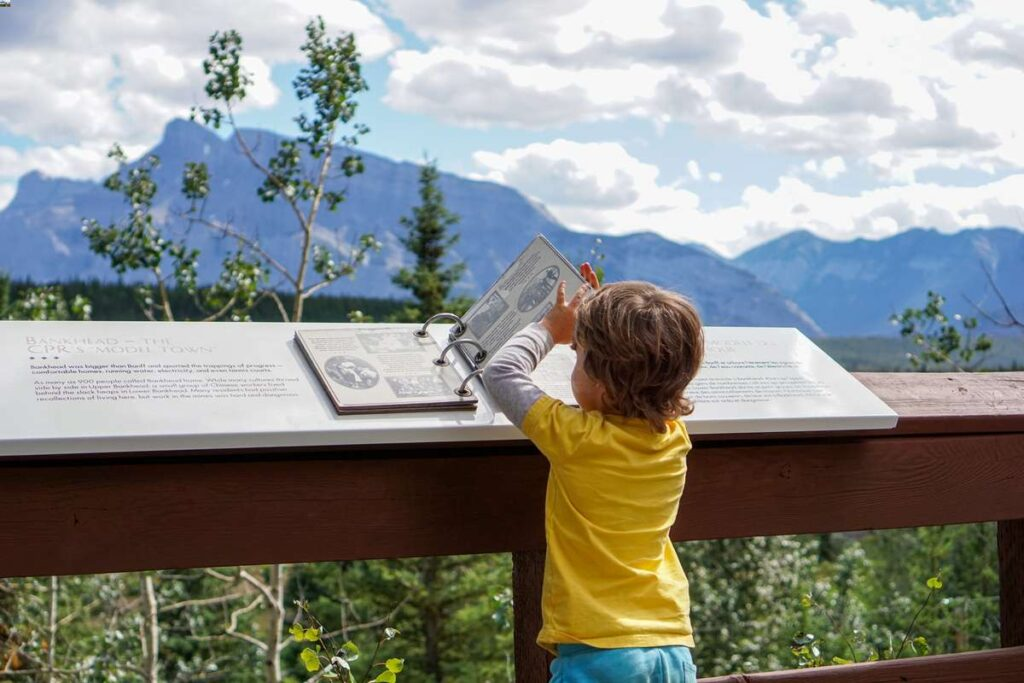 The Bankhead ghost town is such a fun activity for kids in Banff, they won't realize how educational it is