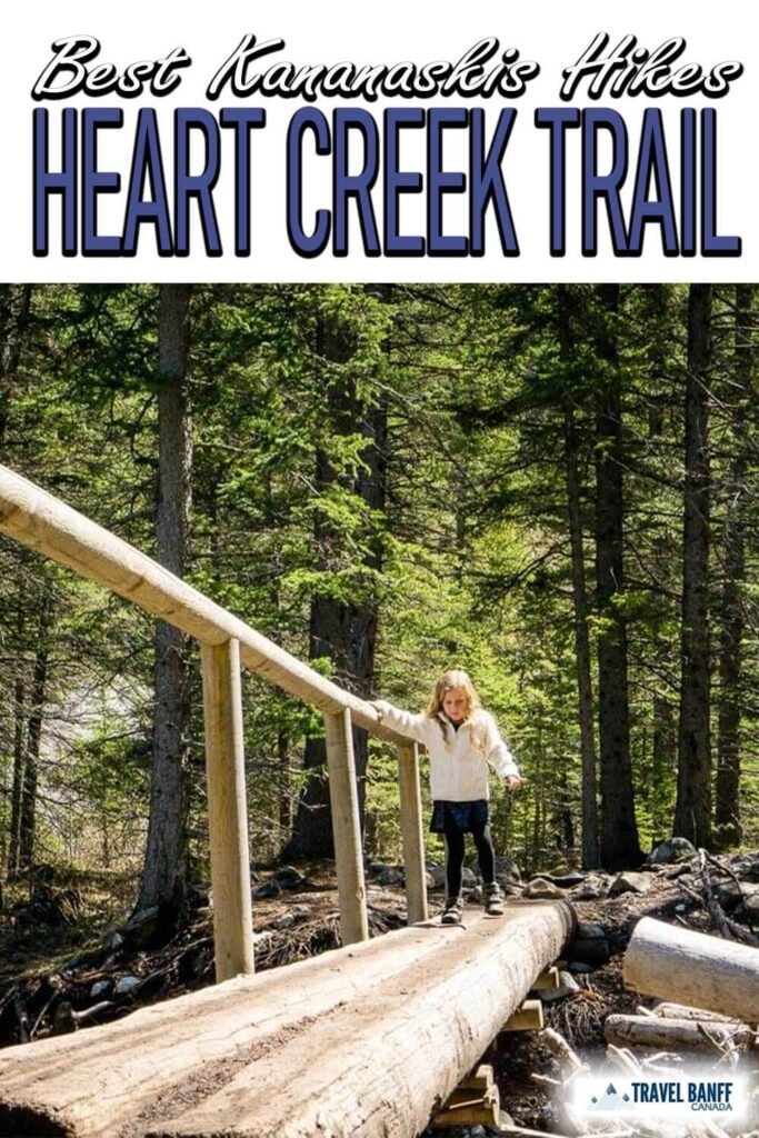 The Heart Creek Trail is an enormously popular Kananaskis hike and for good reason. The Heart Creek hike is fun, easy and beautiful, a powerful combination making it one of the best kid-friendly hikes near Canmore.