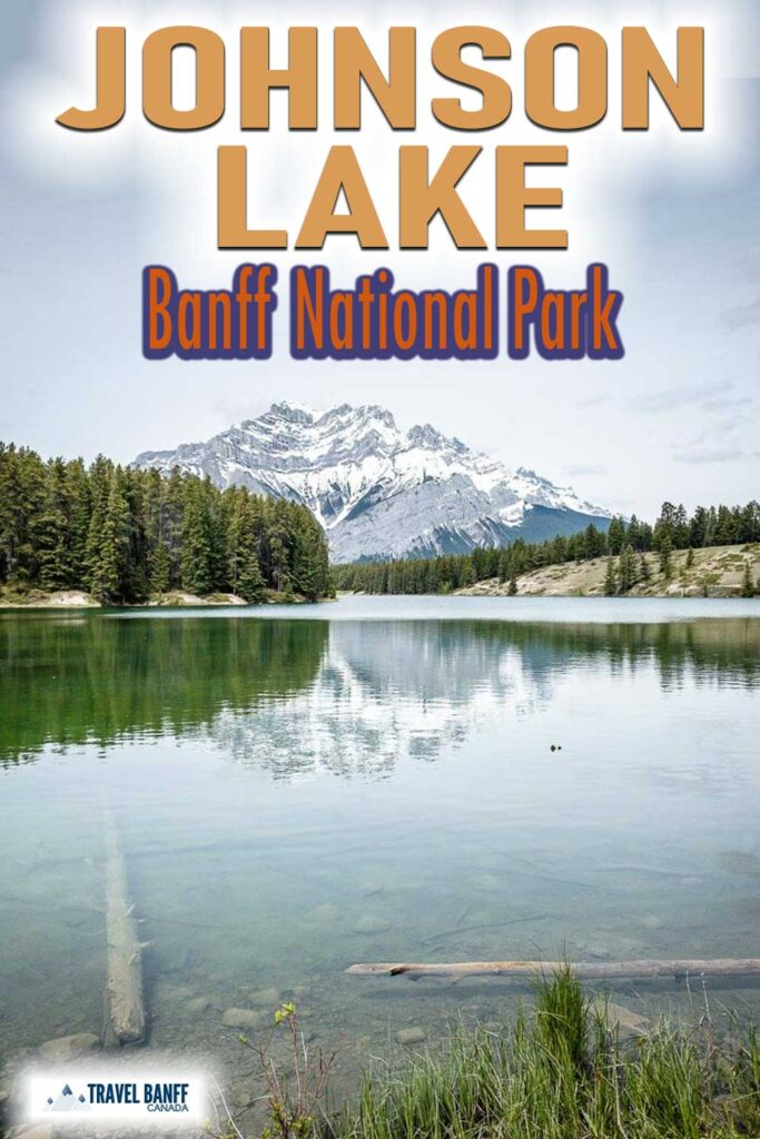 Johnson Lake is a beautiful and popular lake in Banff National Park. Just a short drive from the Town of Banff, a visit to Johnson Lake is an excellent thing to do with kids in Banff. With a large day use area, Johnson Lake is a scenic spot for a picnic in Banff or to get out on the water with a stand-up paddleboard, dinghy or kayak.