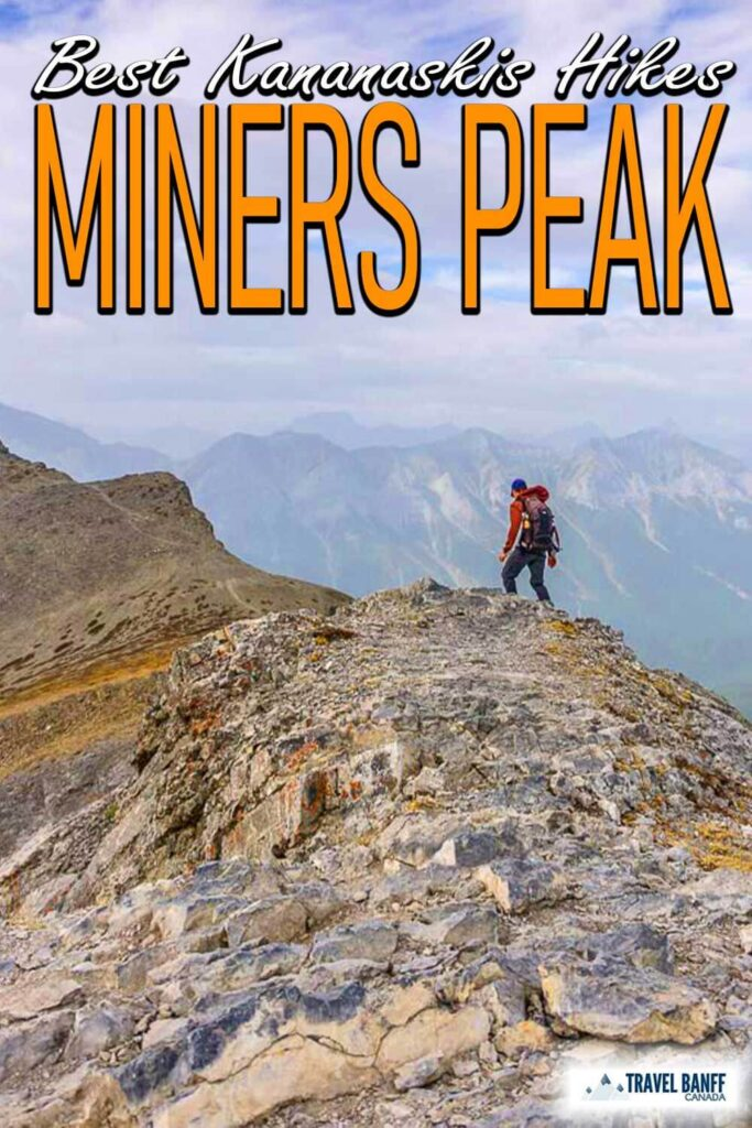 Miners Peak hike in Kananaskis is a great alternative to the popular Ha Ling Peak hike. It can also be combined with Ha Line hike for anyone who has the time. Don't miss this Kananaskis hike!