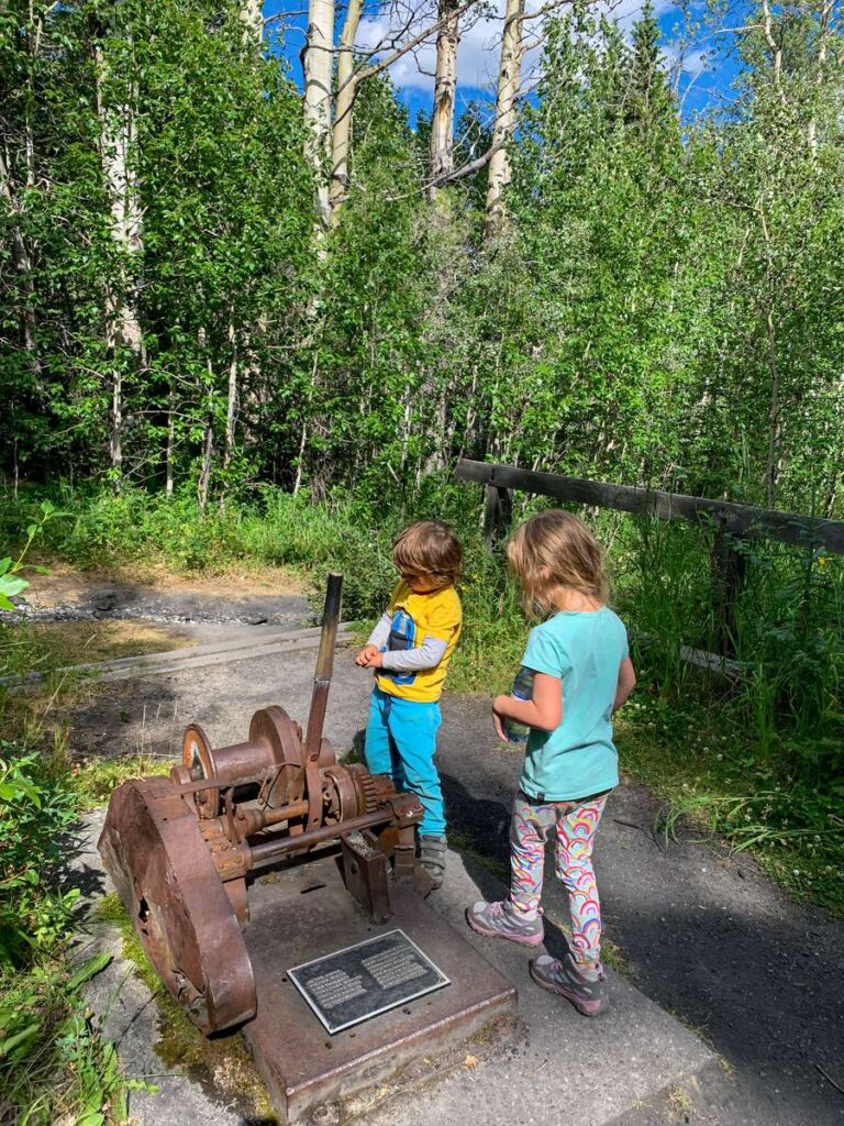 A visit to Bankhead, Banff with kids is an educational and fun activity for families