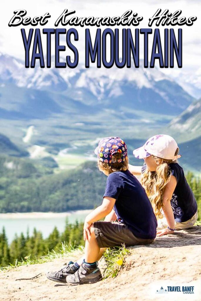 The Yates Mountain Trail is a popular and rewarding Kananaskis hike from the Barrier Lake day use area. One of the best hikes in Kananaskis, the Yates Mountain Trail offers outstanding views of Barrier Lake and the stunning Rocky Mountains of Kananaskis Valley.