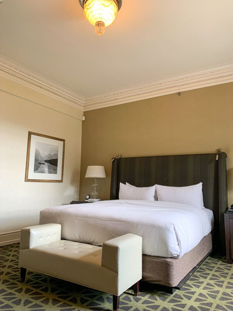 A review of the cheapest room at the Fairmont Banff Springs Hotel