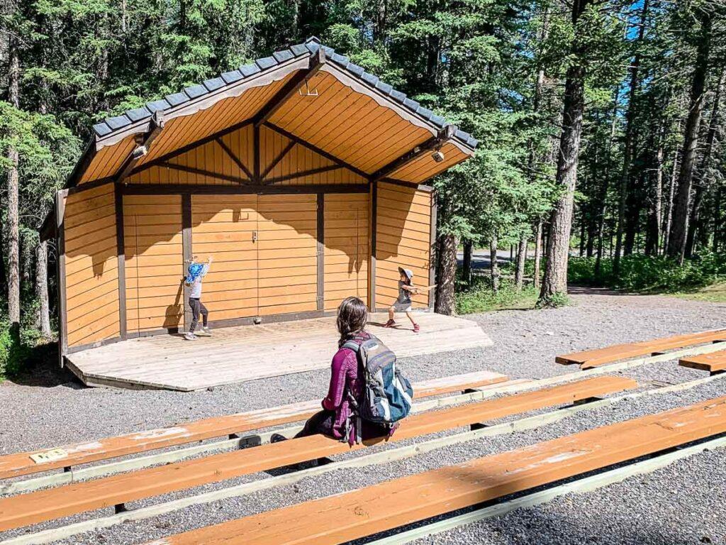 Bow Valley Campground Amphitheatre - Kananaskis camping