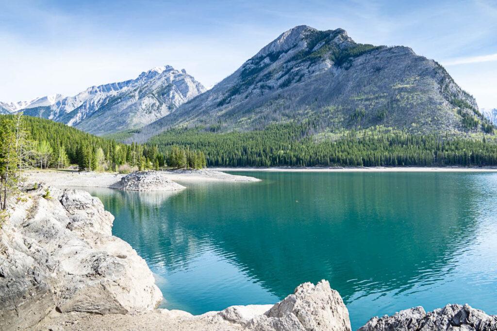 Minnewanka Lake Banff National Park