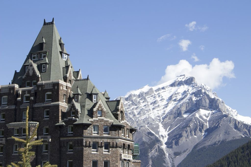 The Fairmont Banff Springs Hotel has been named one of the best hotels in Alberta
