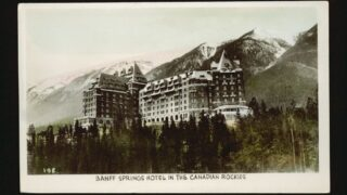 Banff Springs Hotel Photos from 1940s