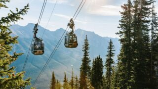 The Banff Gondola is one of Banff's top attractions and it's just minutes from the Banff Springs Hotel