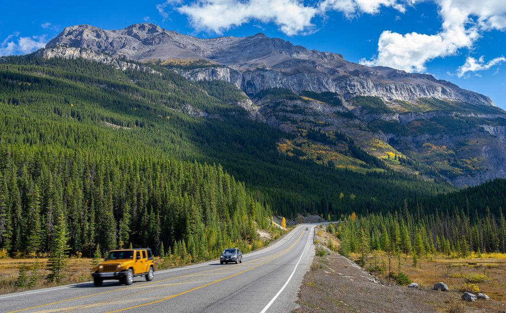 A rental car is one of the best ways to get to Banff National Park