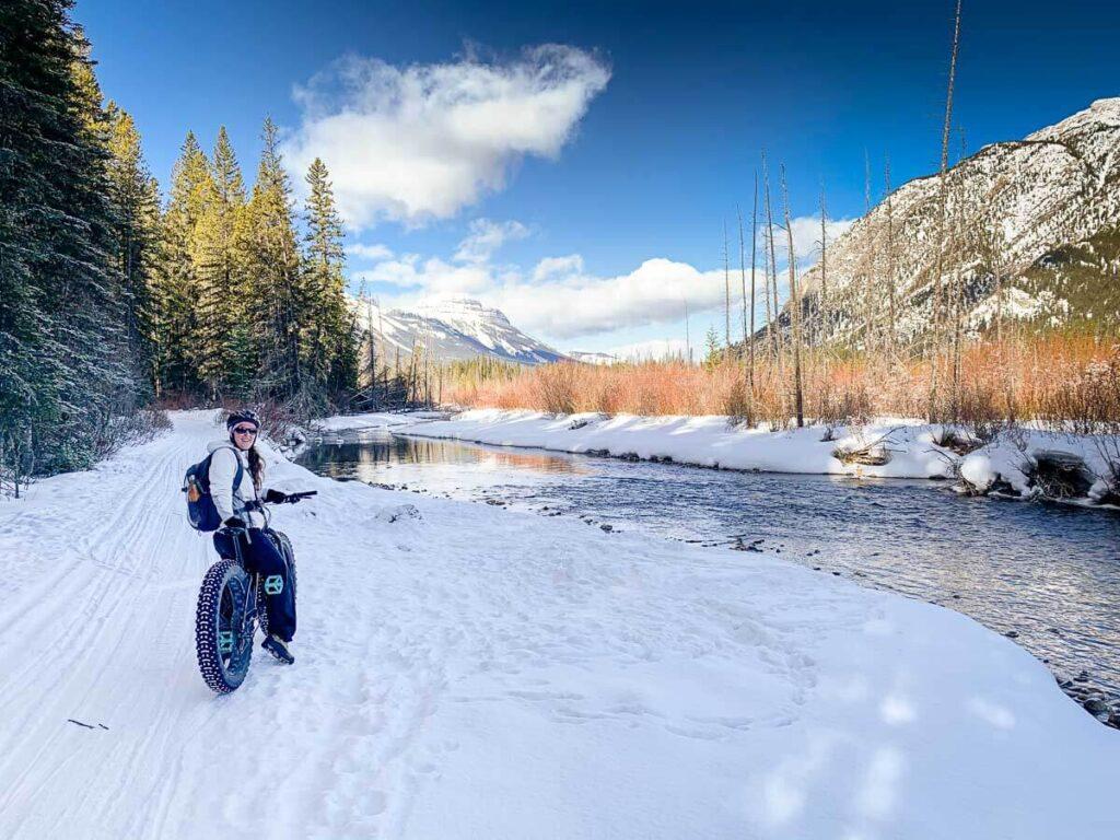 Banff Fat Bike Trail - Healy Creek