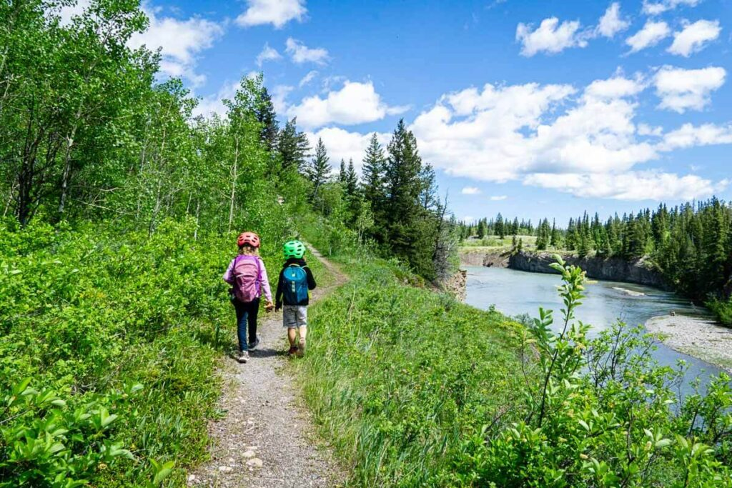 Hiking with Kids Flowing Water Interpretive Trail