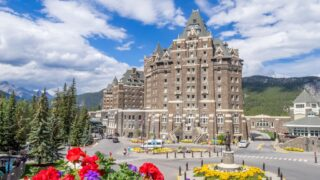 Getting to the Fairmont Banff Springs Hotel from Calgary and Vancouver