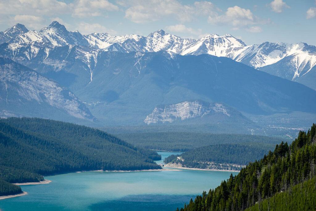 Banff Lake Minnewanka for Stand Up Paddle Boarding