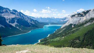 Lake Minnewanka Banff from Aylmer Lookout