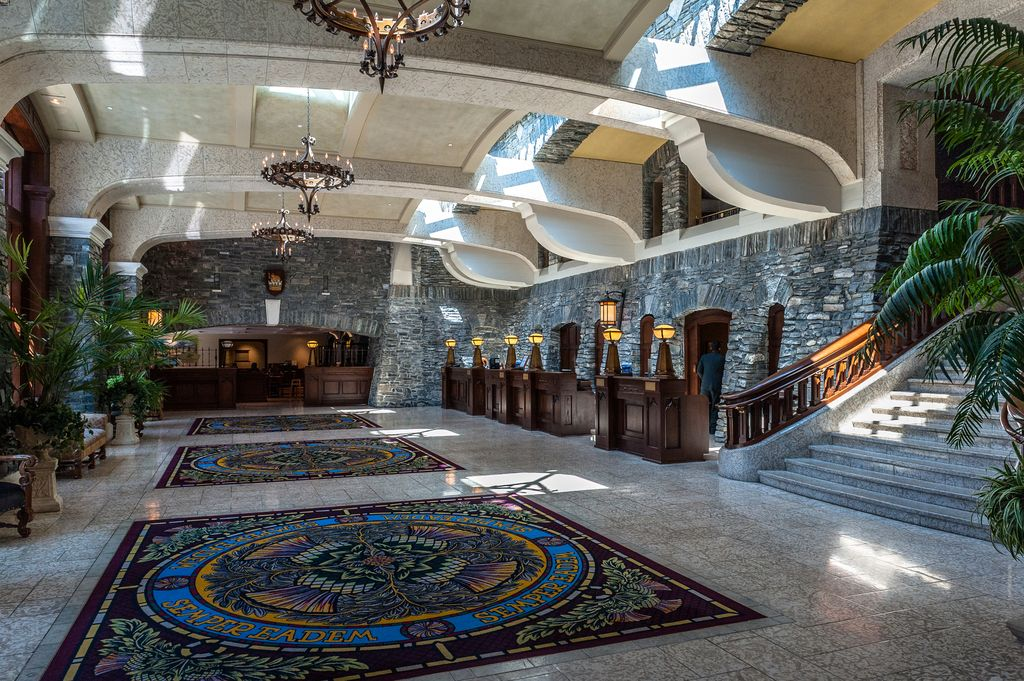 The elegance of the Banff Springs Hotel makes it one of the best hotels in Banff National Park