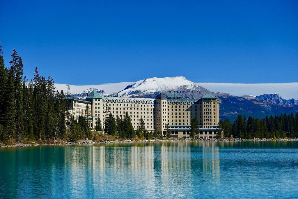 A stay at the Chateau Lake Louise is a highlight of many luxury tours to Banff