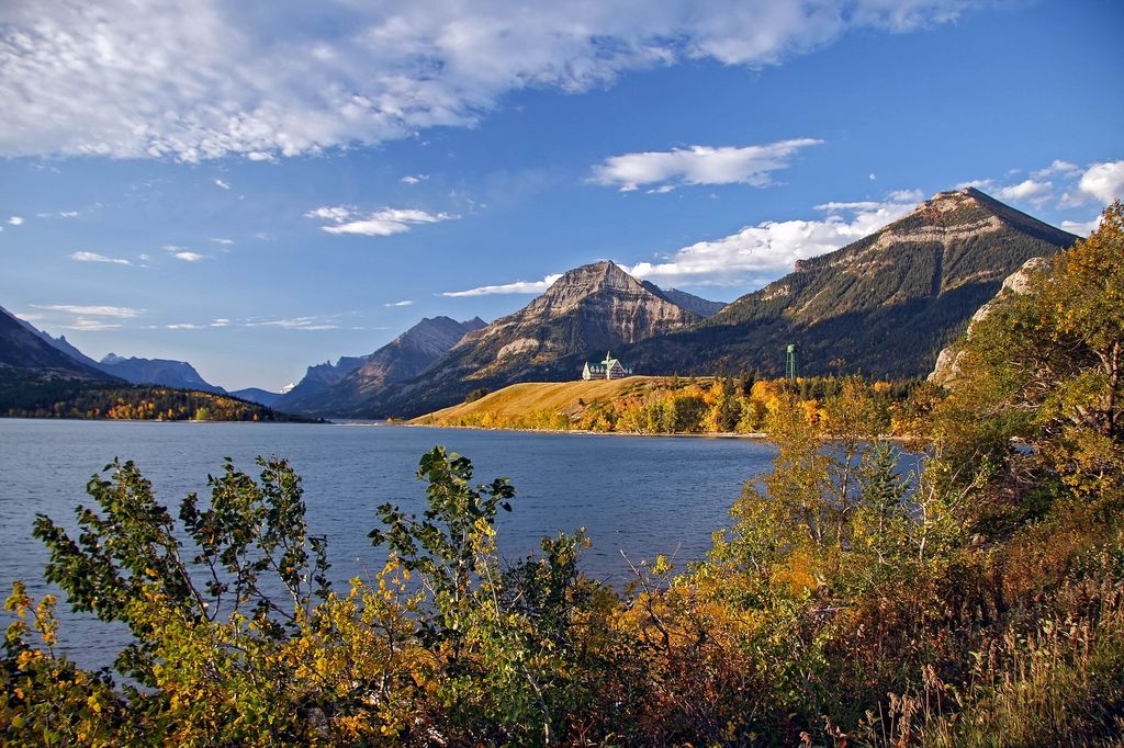 Waterton Lakes National Park is a beautiful stop on a luxury tour to Banff