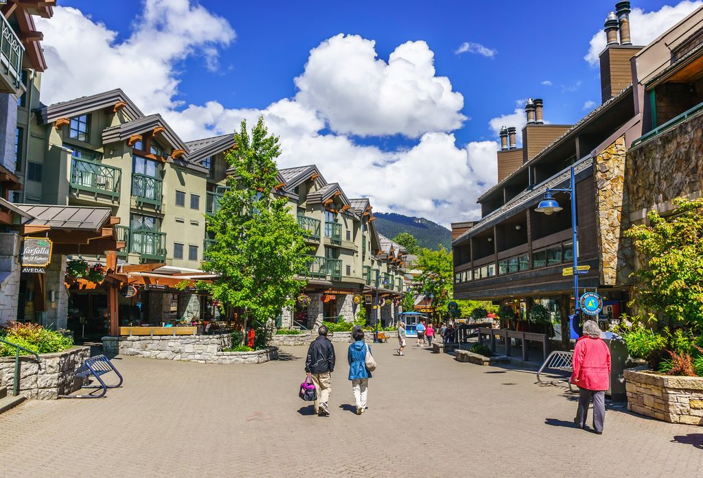 Explore Whistler, BC while on a luxury tour from Vancouver to Banff