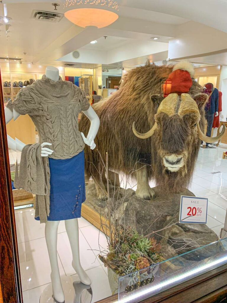 The Fairmont Banff Springs has a wide selection of retail stores to enjoy
