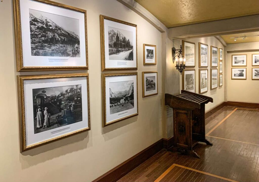 Learn about the banff springs hotel history at the onsite Heritage Hall museum