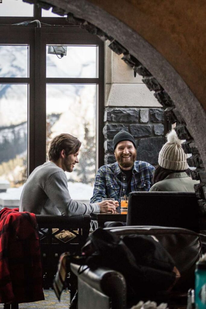 After a day of playing in the Canadian Rocky Mountains, you'll have plenty of reasons to eat at the Banff Springs Hotel