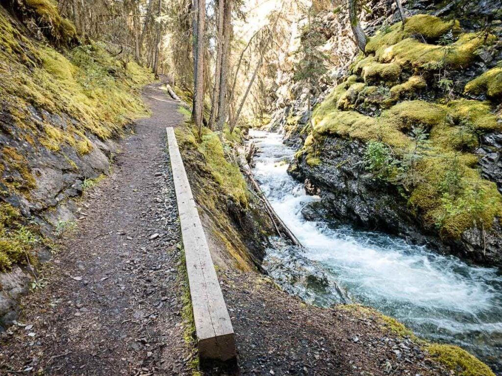 Hike Sundance Canyon Banff