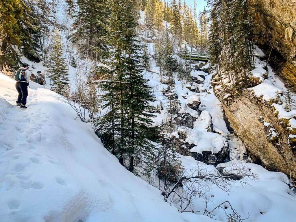 Sundance Canyon in Winter